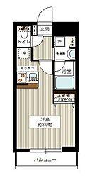 東京都大田区山王3丁目の賃貸マンションの間取り
