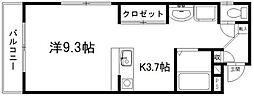 D.S.L蜆塚[1階]の間取り