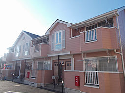 千葉県野田市清水の賃貸アパートの外観