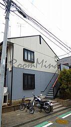 神奈川県横浜市神奈川区上反町2丁目の賃貸アパートの外観