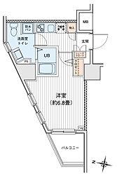 プリモ・レガーロ町田[0706号室]の間取り
