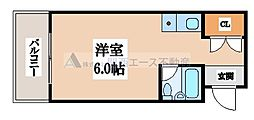 音羽アパートメント[5階]の間取り