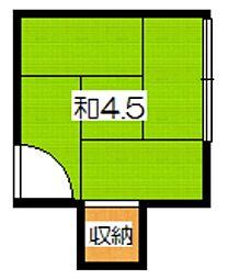 修学院駅 1.5万円