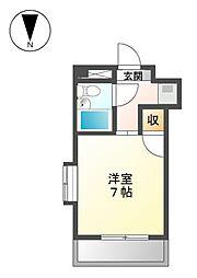ジュネス平松[4階]の間取り
