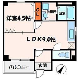 エスポワールgonbi[2階]の間取り