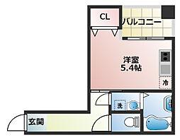 (仮称)船橋市宮本3丁目共同住宅[104号室]の間取り