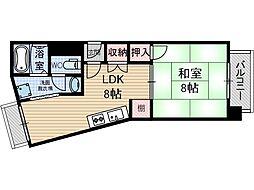 サワダビル[4階]の間取り