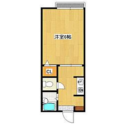 ホームNEXT[2階]の間取り