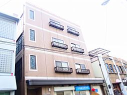 河波マンション[1階]の外観