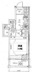 東京都板橋区双葉町の賃貸マンションの間取り
