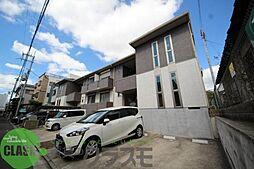 大阪府東大阪市吉松2丁目の賃貸アパートの外観