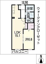 さくま荘[1階]の間取り