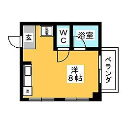 ウイングルートII[2階]の間取り