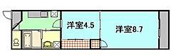 第24やたがいビル[10階]の間取り