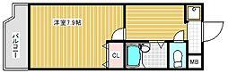 ラフィーネ北島[1階]の間取り