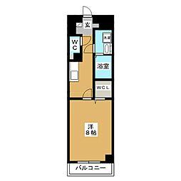 プランドールM[3階]の間取り