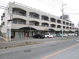 茨城県ひたちなか市外野1丁目の賃貸アパートの外観