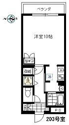 エムワン洗足[2階]の間取り