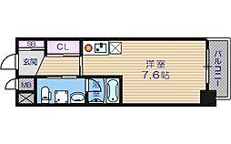 NBコート玉造[5階]の間取り