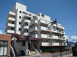 長野県長野市大字鶴賀七瀬南部の賃貸マンションの外観