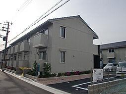 兵庫県尼崎市武庫川町の賃貸アパートの外観
