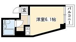 愛知県名古屋市瑞穂区神穂町の賃貸マンションの間取り