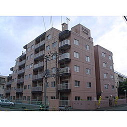 北海道札幌市中央区南六条西25丁目の賃貸マンションの外観
