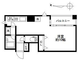 シティライブ武蔵小金井参番館[212号室]の間取り