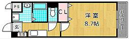 ユリウスNUMBER5[2階]の間取り