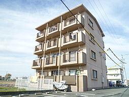 静岡県磐田市富里の賃貸マンションの外観