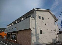 埼玉県越谷市柳町の賃貸アパートの外観
