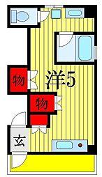 千葉県船橋市習志野台3丁目の賃貸マンションの間取り