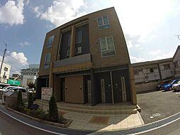 兵庫県宝塚市鶴の荘の賃貸アパートの外観