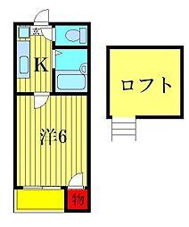 メゾネットY&A[1階]の間取り