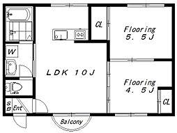 (仮)菅馬場2丁目新築(1844)[102号室]の間取り