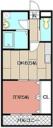 LA・VERITE NS I[105号室]の間取り
