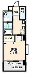 イオメールユノ[5階]の間取り