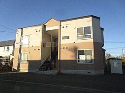 北海道札幌市北区篠路十条2丁目の賃貸アパートの外観