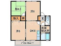 セジュールゆう[2階]の間取り