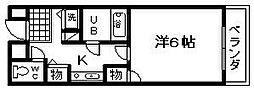 蛸地蔵駅 3.2万円