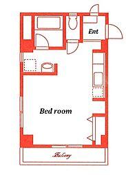 エムフラット[2階]の間取り