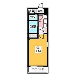 グランハート藤ヶ丘[1階]の間取り
