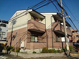 兵庫県神戸市灘区大石南町2丁目の賃貸アパートの外観