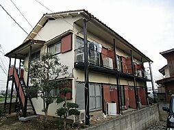 東京都調布市国領町6の賃貸アパートの外観
