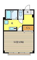 堀井ビルII[2階]の間取り