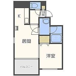 カハラコート2nd(カハラコート)[5階]の間取り