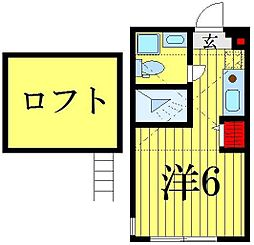 (仮称)高砂7丁目コーポ[2階]の間取り