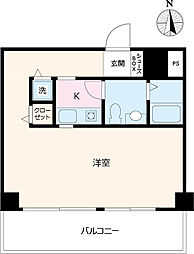 R3kawagoe[3F-D号室]の間取り