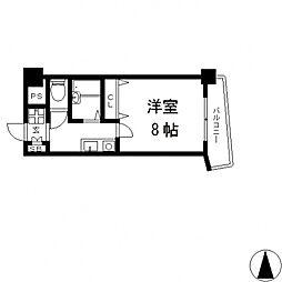 アベニューリップル小阪[505号室号室]の間取り