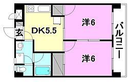 プチメゾン竹内II[505 号室号室]の間取り